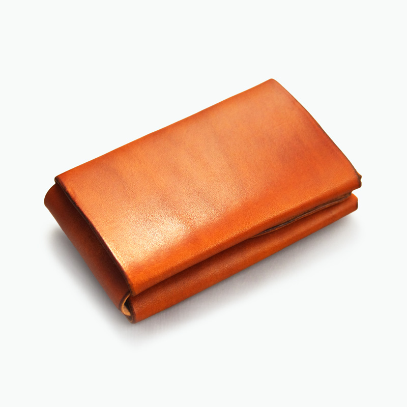 ミニマルカードケース タン – Tan Minimal Card Case