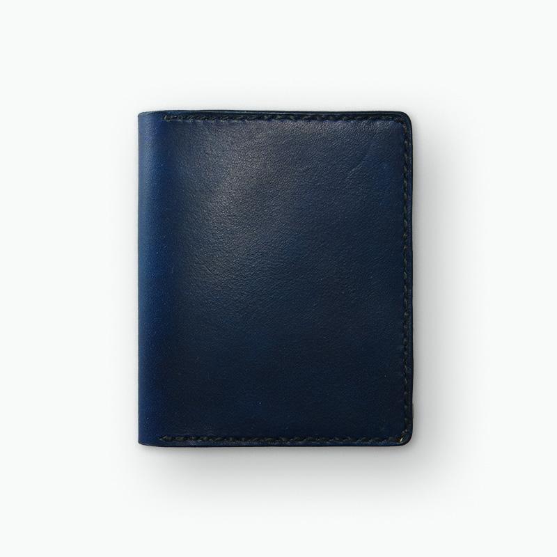 マネークリップウォレット ネイビー – Navy Money Clip Wallet
