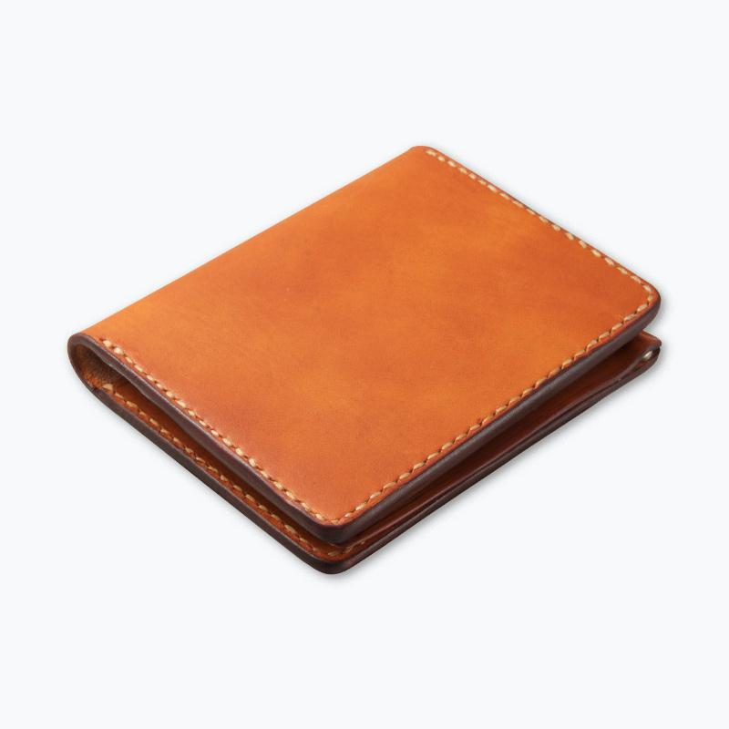 マネークリップウォレット タン – Tan Money Clip Wallet