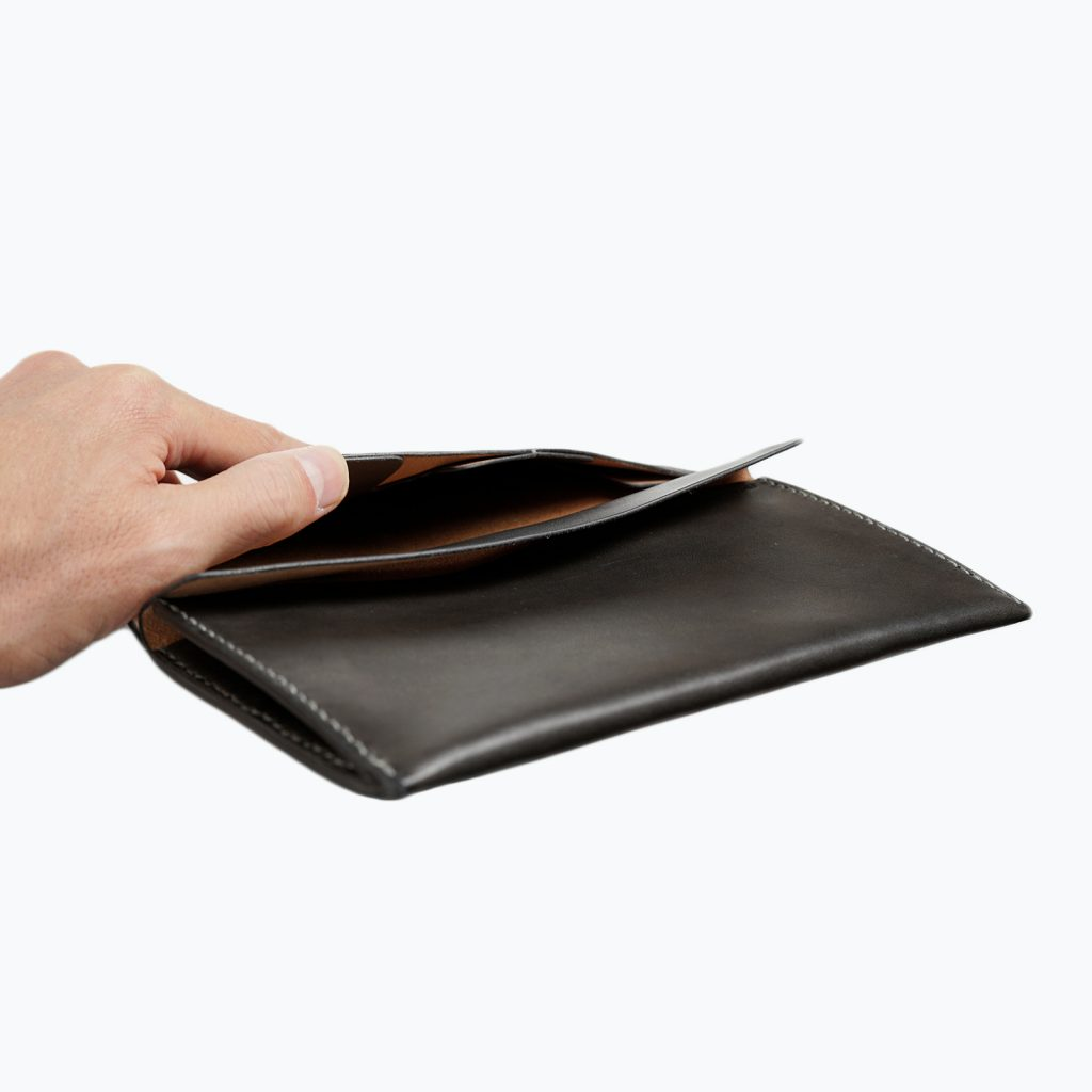 Long Leather Wallet | カード入れ