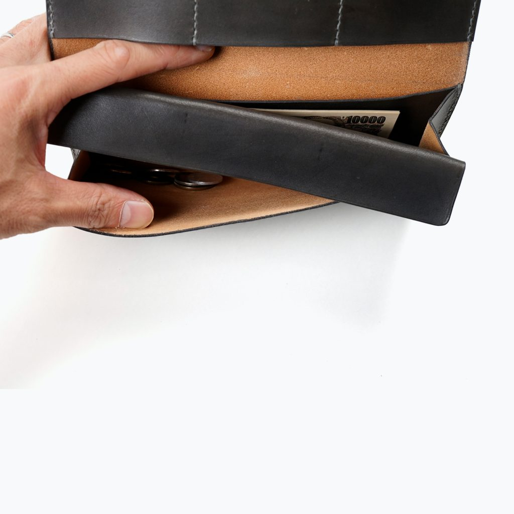 Long Leather Wallet | コインケース