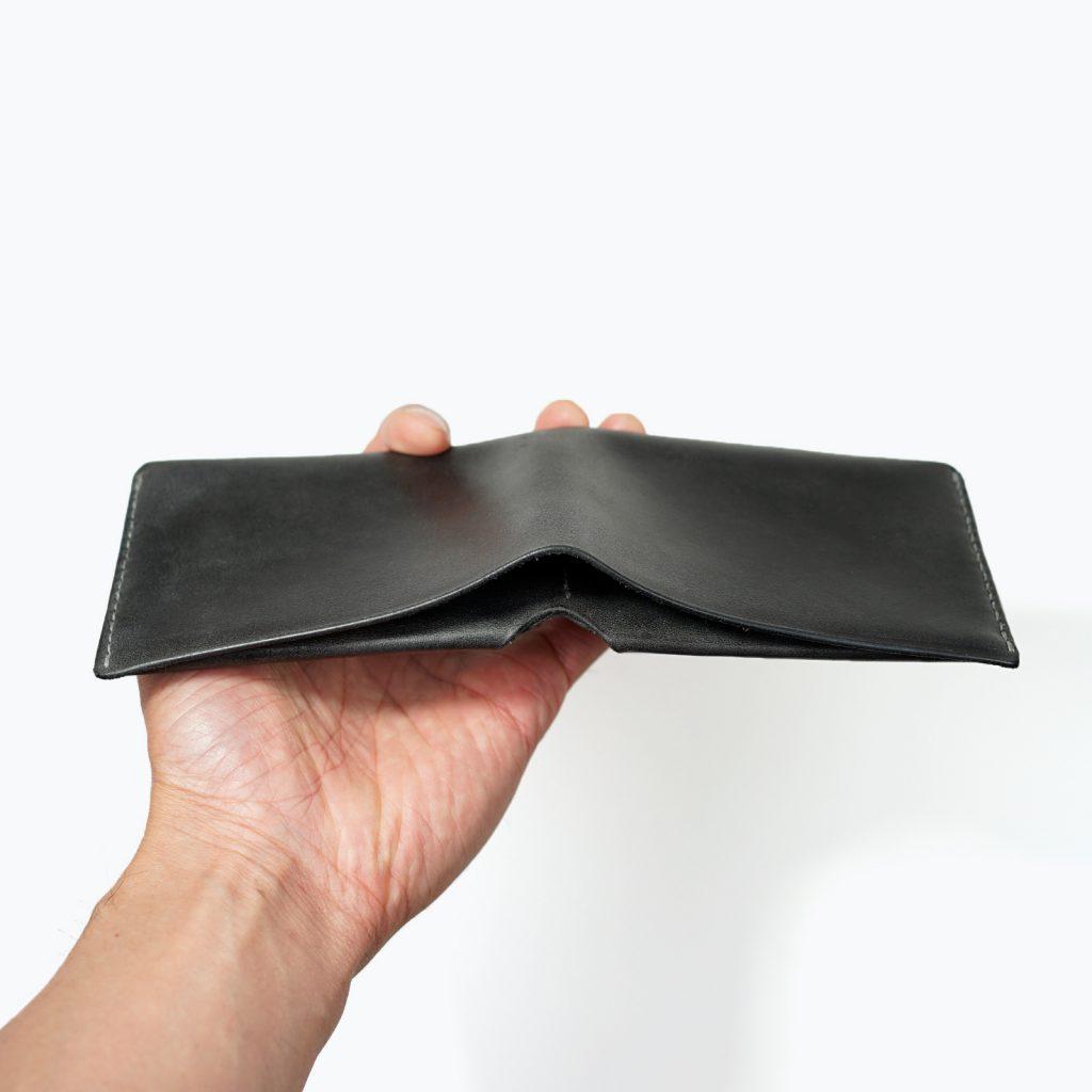 ミニマルウォレット|柿渋染め|薄いシンプルな財布